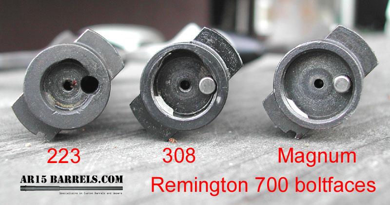 Remington 700 Bolt Face Conversion And External Extractor Ar15 Com