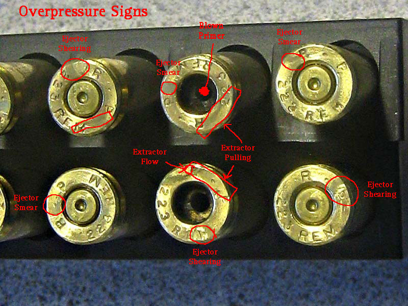 Image result for Brass high pressure signs 5.56